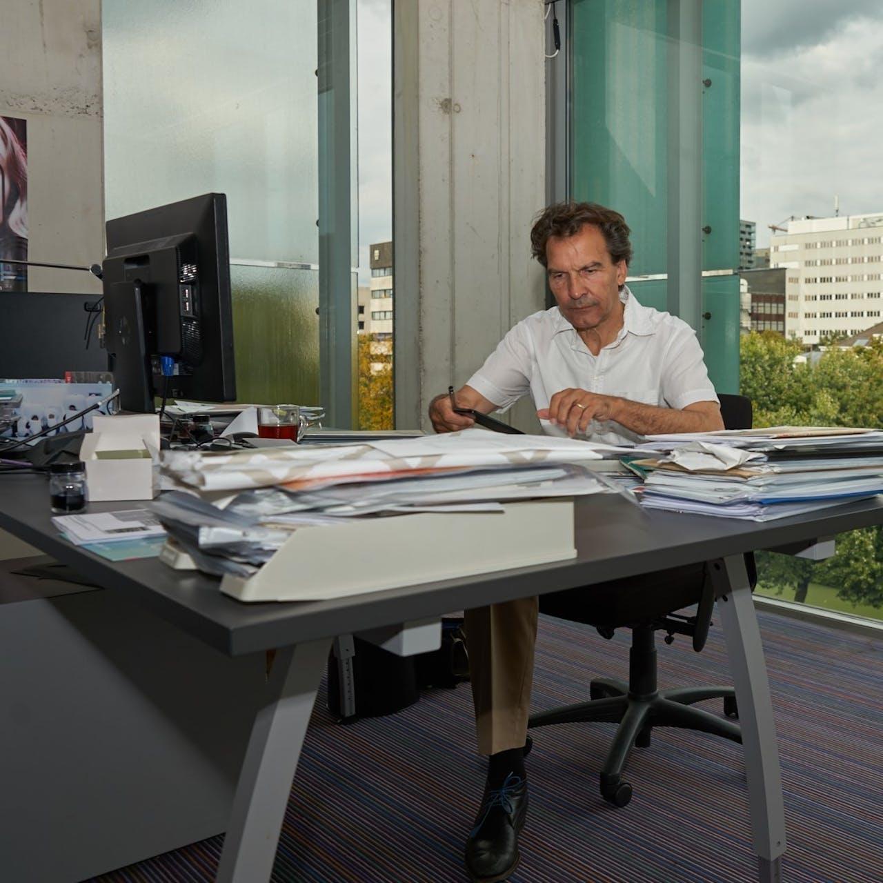 Sjarel Ex, directeur museum Boijmans van Beuningen in Rotterdam