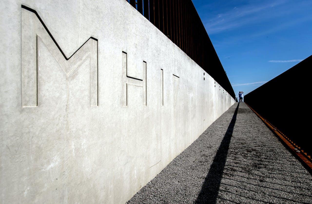 Het Nationaal Monument MH17 in Vijfhuizen.