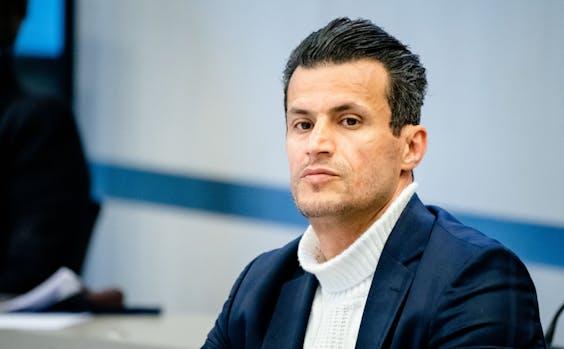 Farid Azarkan (DENK) tijdens de hoorzitting in de Tweede Kamer