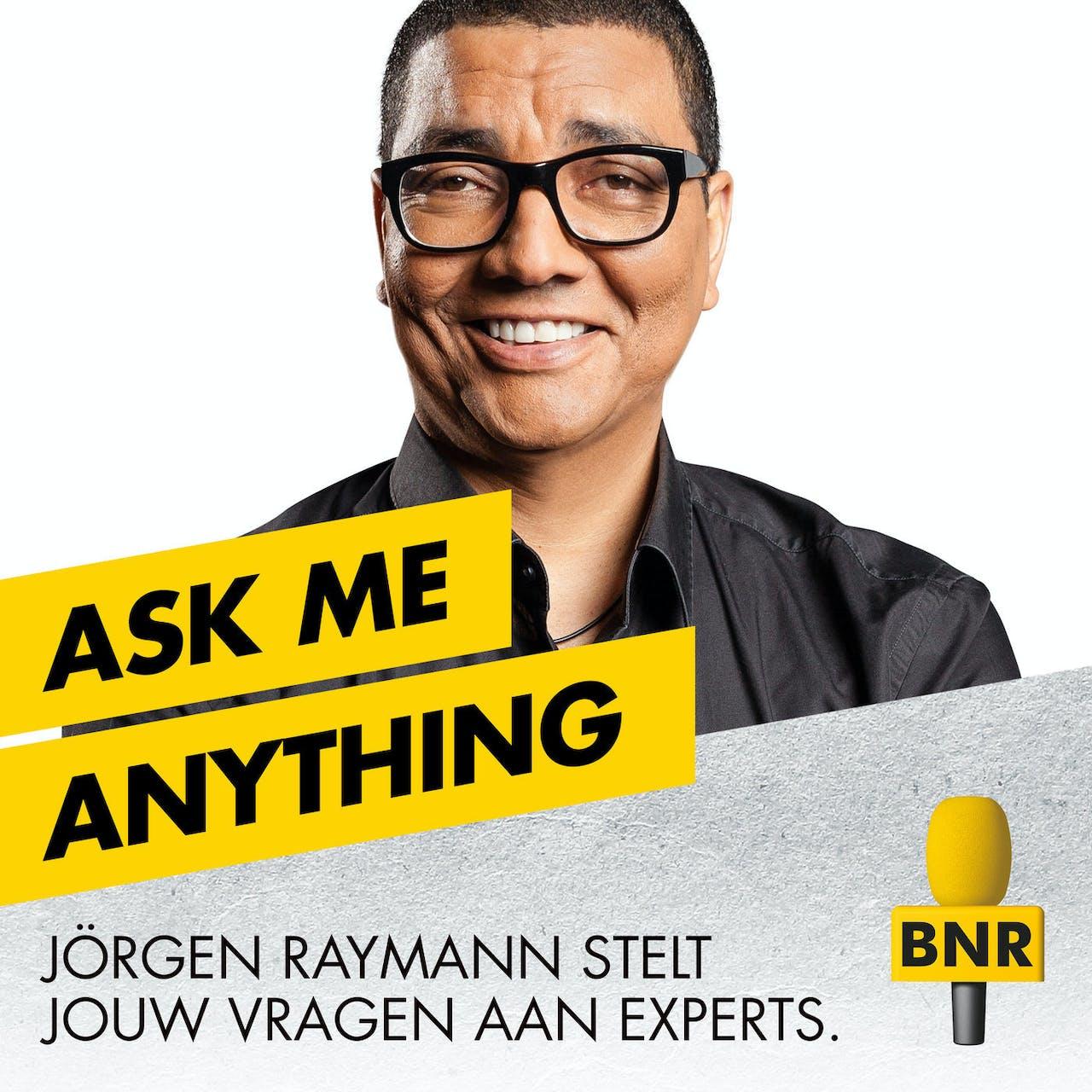 BNR radio vormgeving voor de losse programma's ask me anything