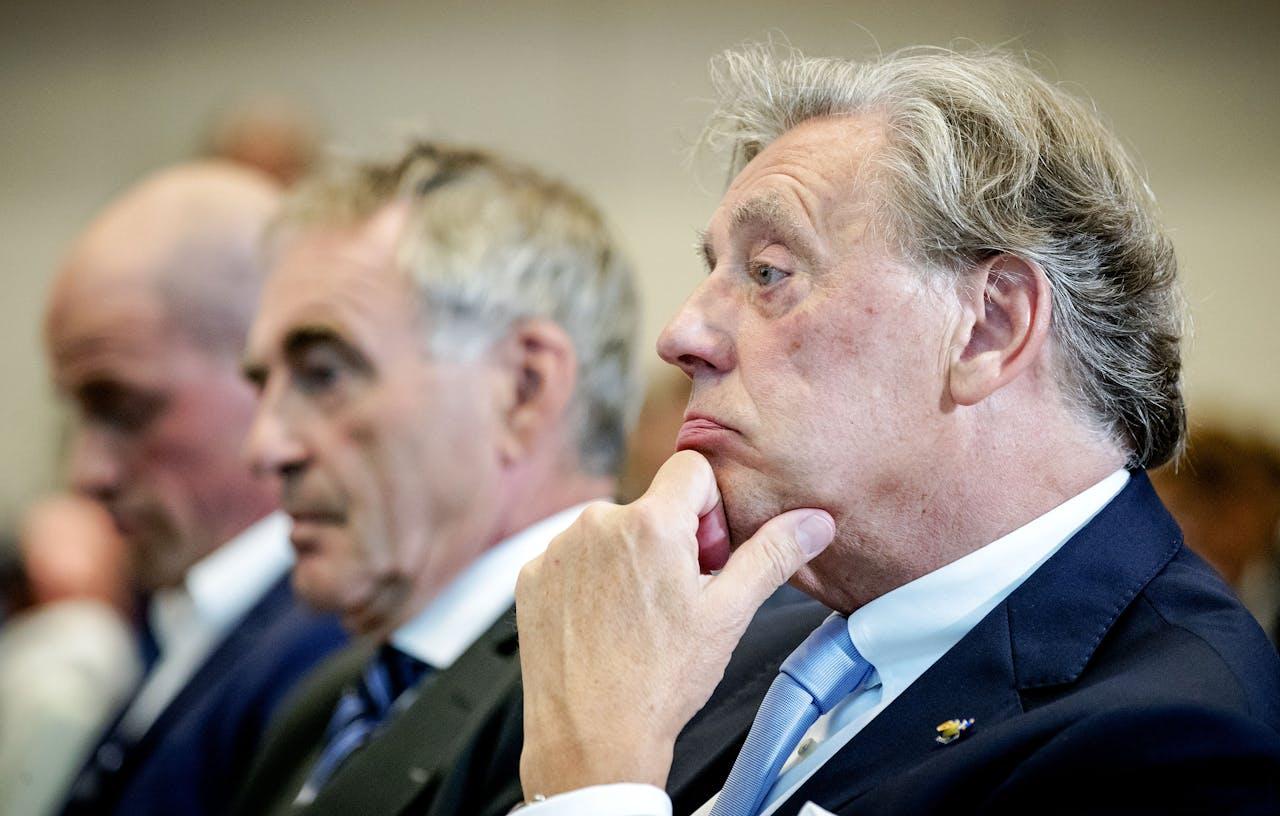 Voorzitter Ed Nijpels afgelopen juli bij de presentatie van de hoofdlijnen van het Klimaatakkoord.