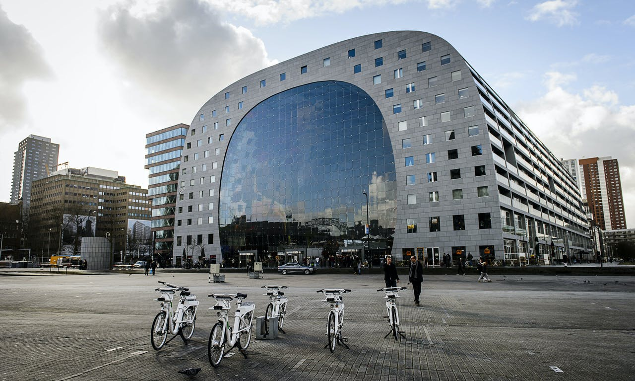 De Gobike, de nieuwe elektrische huur-/leenfiets van de gemeente Rotterdam.