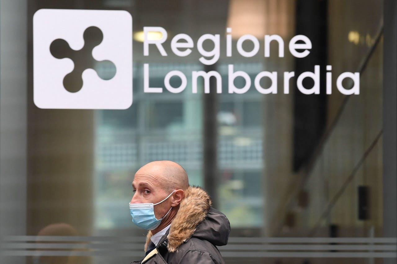 Milaan in vrij strike lockdown