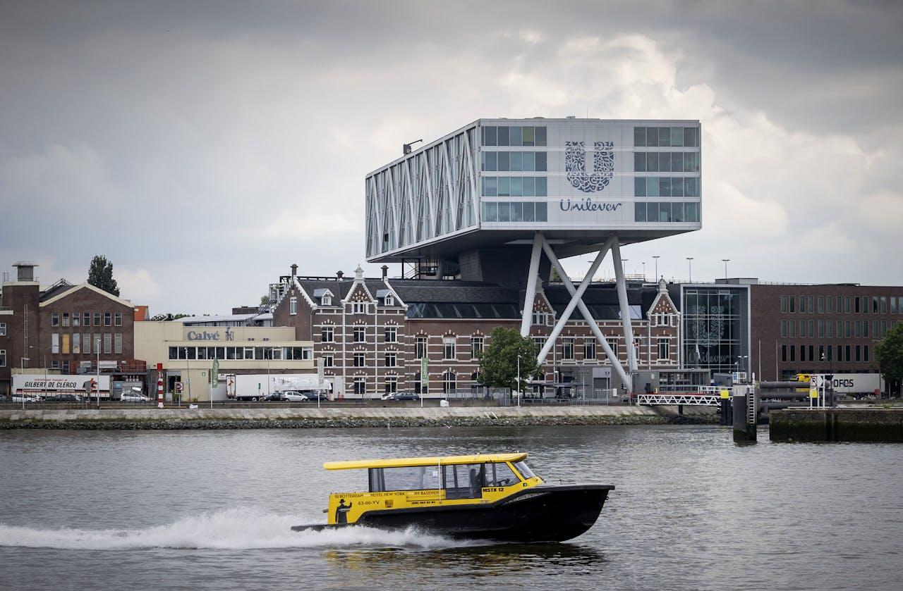 Het hoofdkantoor van Unilever in Rotterdam.