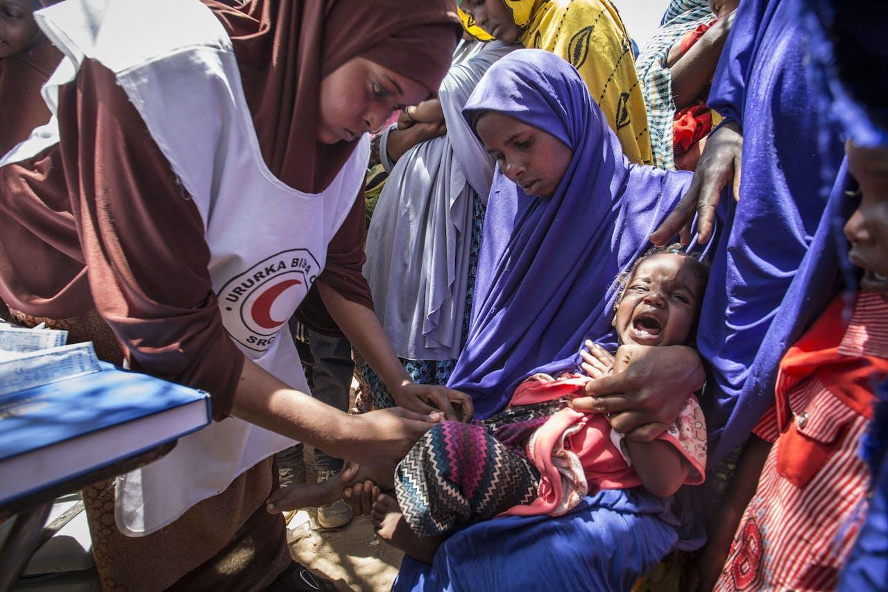 Droogte in Somalië, begin 2017