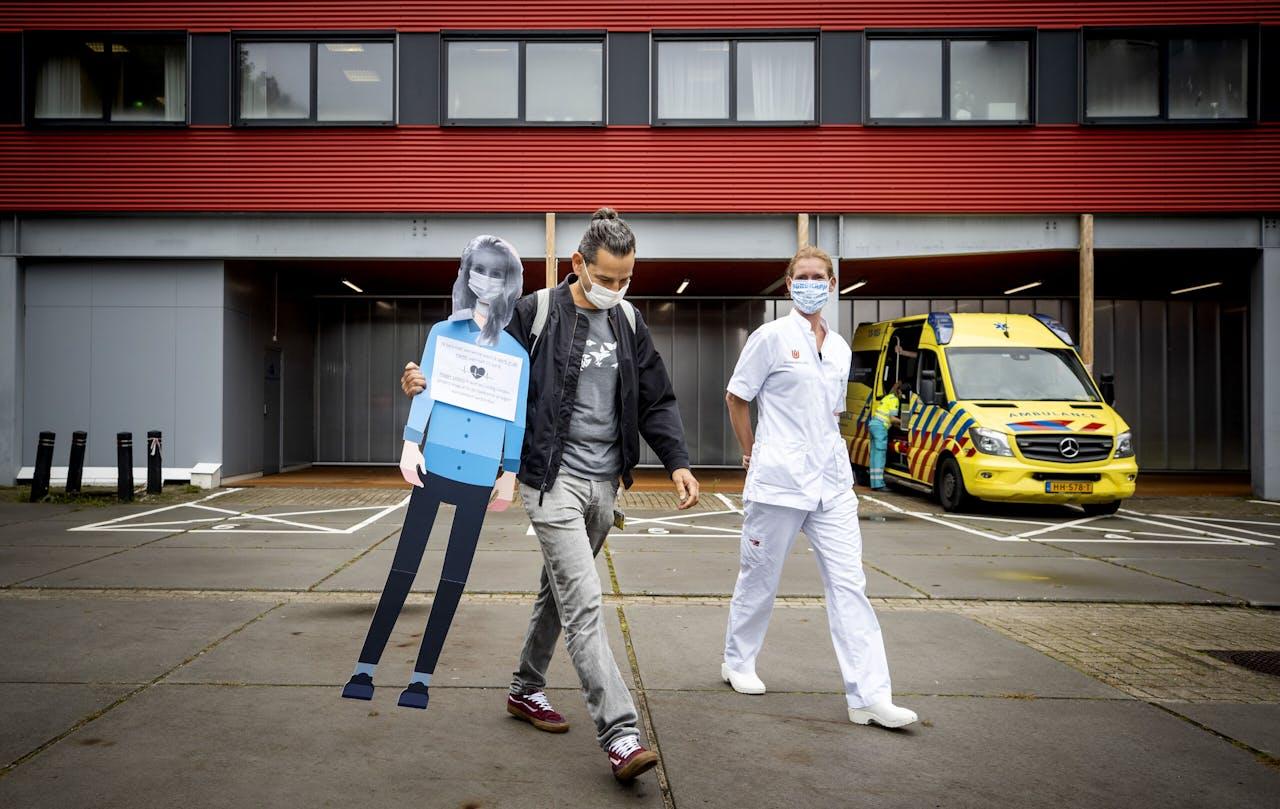 Ziekenhuismedewerkers Amsterdam UMC