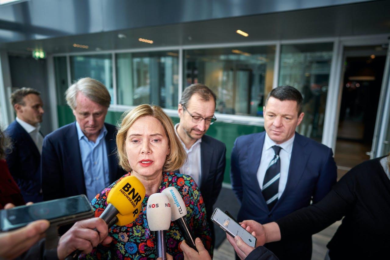 Minister Cora van Nieuwenhuizen van Infrastructuur
