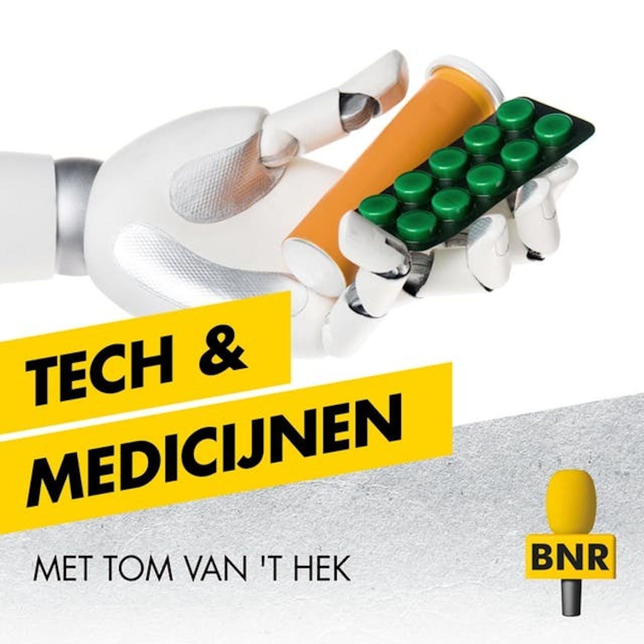 Tech & Medicijnen is een podcast over de toekomst van zorg en medicijnen. Host: Tom van 't Hek.