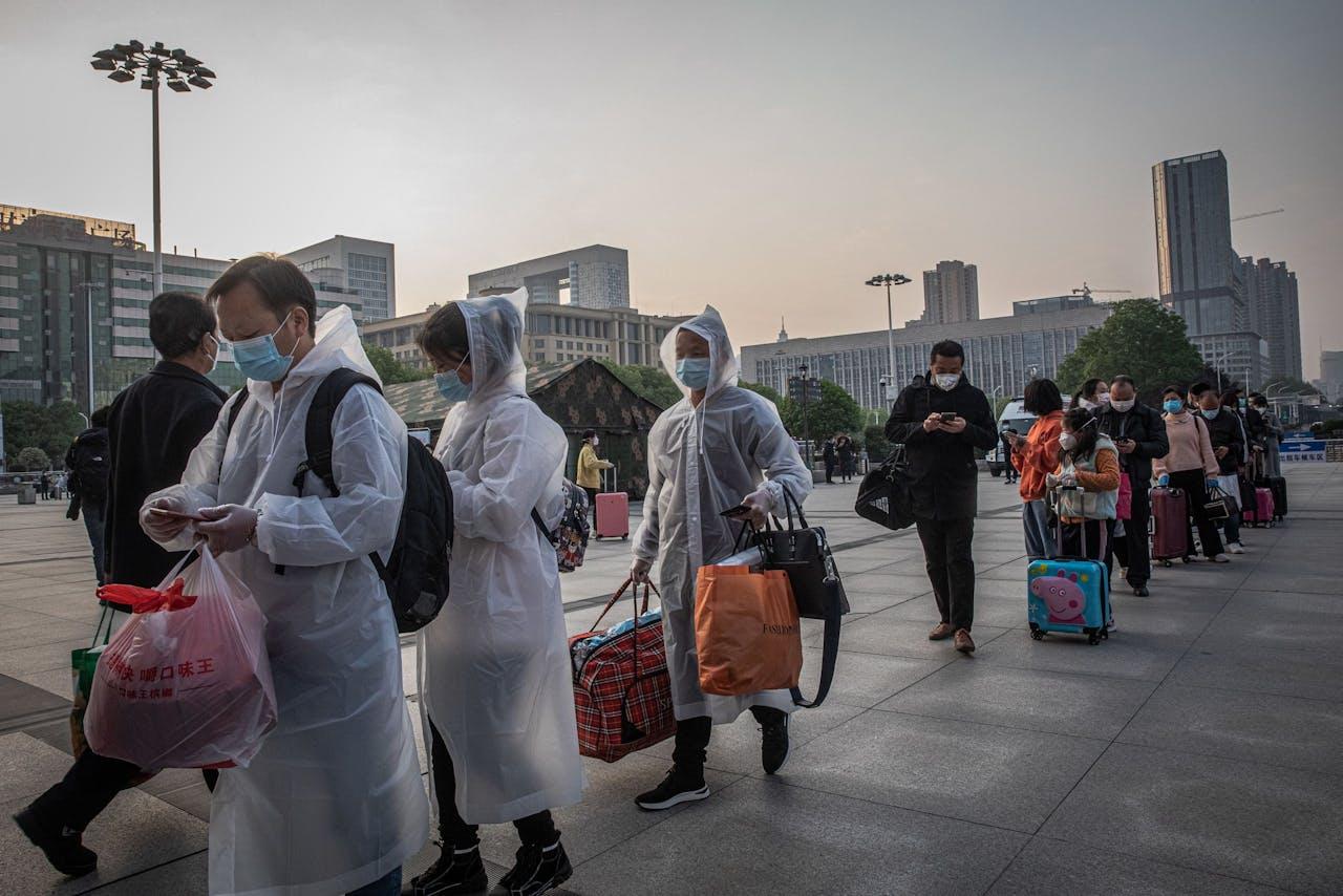 Langzaam maar zeker komt het leven in Wuhan weer op gang