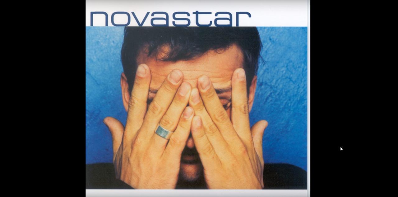 'Joost Swegers is een Nederlander, het is een beetje een knipoog en de titel lijkt me heel toepasselijk', zegt CEO Vincent Germyns. Foto: Het album Novastar van Novastar (C: Warner Music)