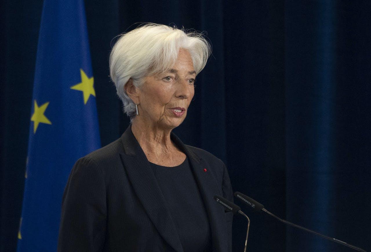 Christine Lagarde, de aanstaande topvrouw van de Europese Centrale Bank.