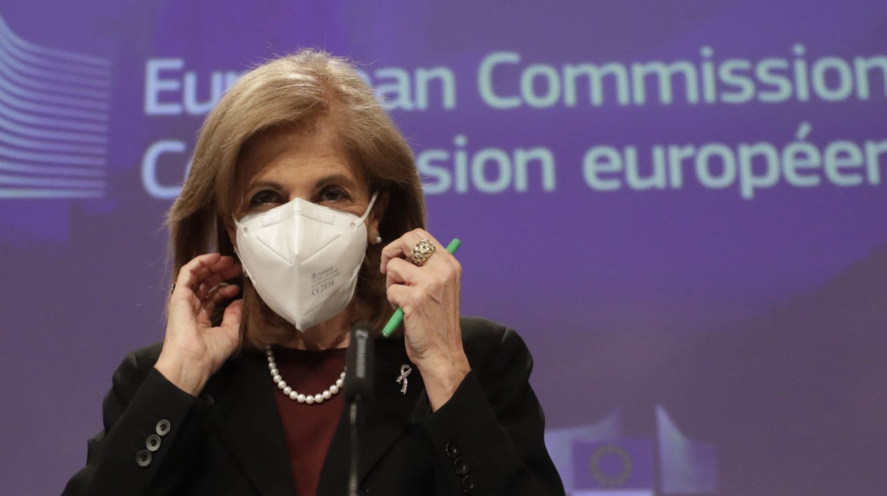 Eurocommissaris Stella Kyriakides van Volksgezondheid