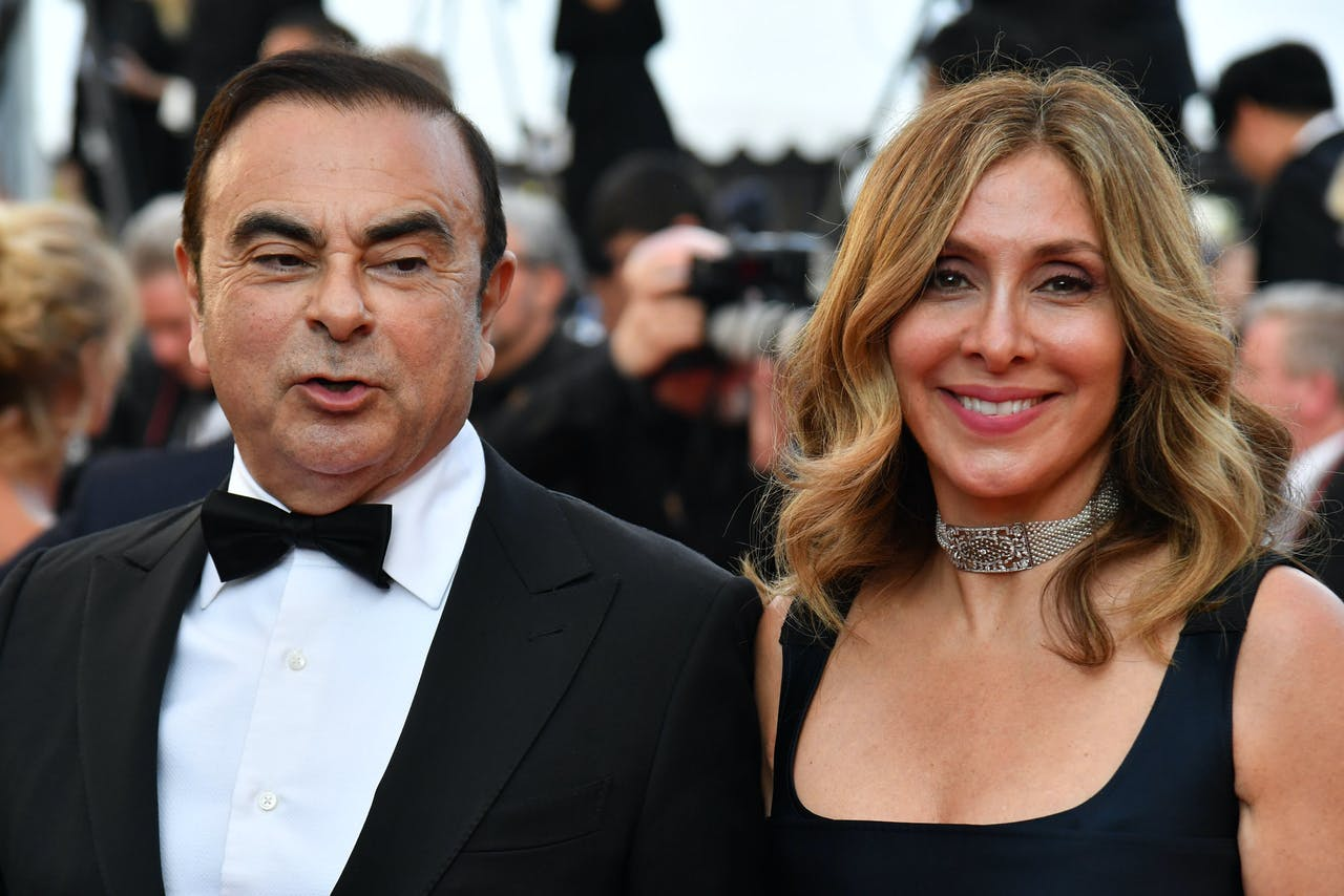 Carlos en Carole Ghosn in betere tijden