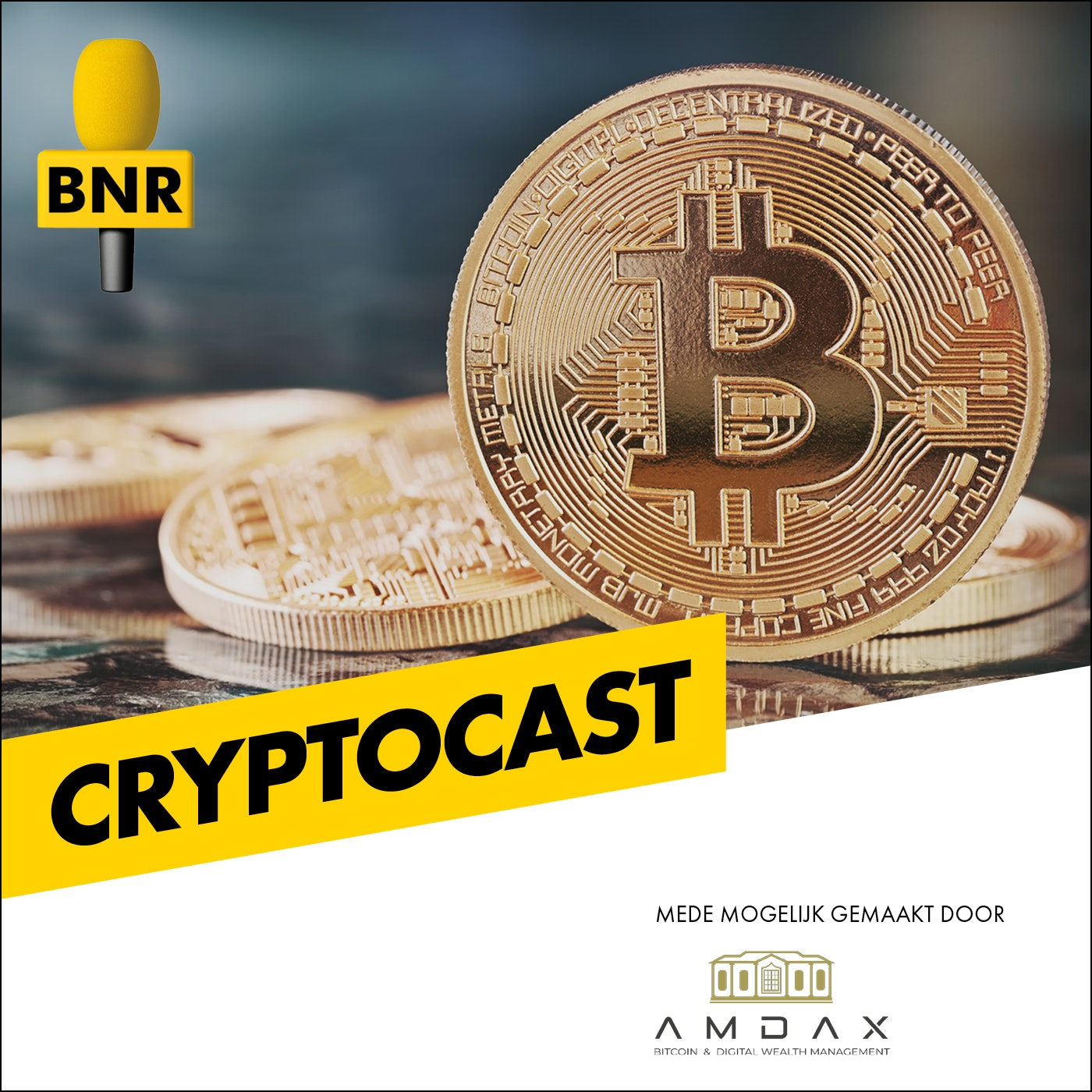 Cryptocast | BNR logo