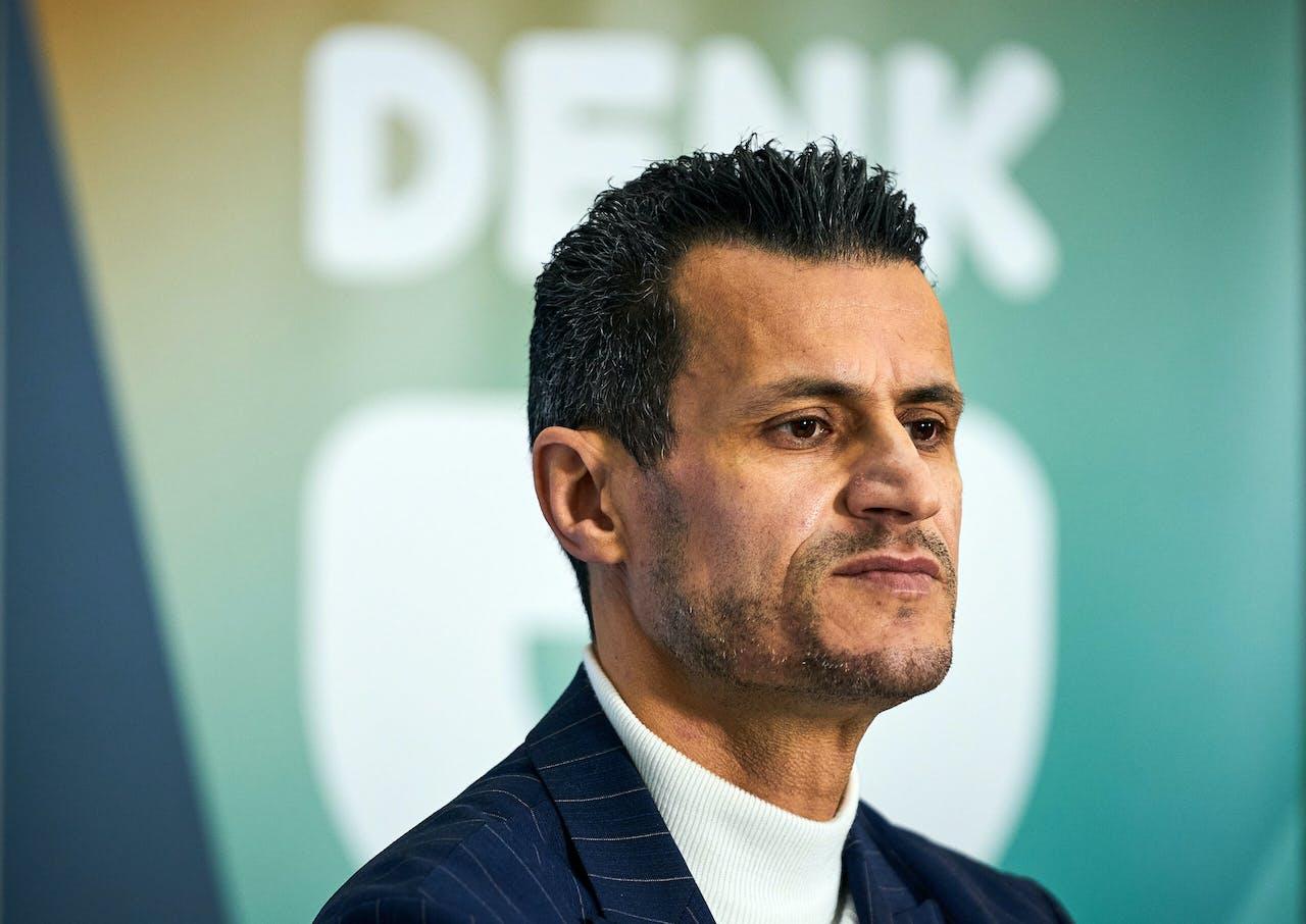 ROTTERDAM - Politieke partij Denk presenteert op een digitale bijeenkomst de top-24 van de kandidatenlijst voor de Tweede Kamerverkiezingen. Farid Azarkan werd al eerder tot lijsttrekker gekozen. ANP PHIL NIJHUIS