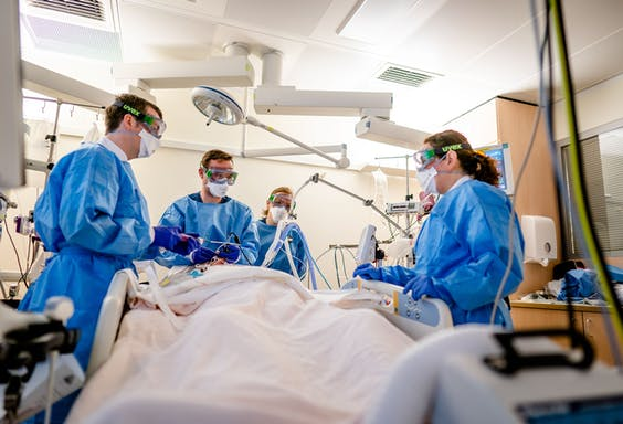 Covid-operatiekamer