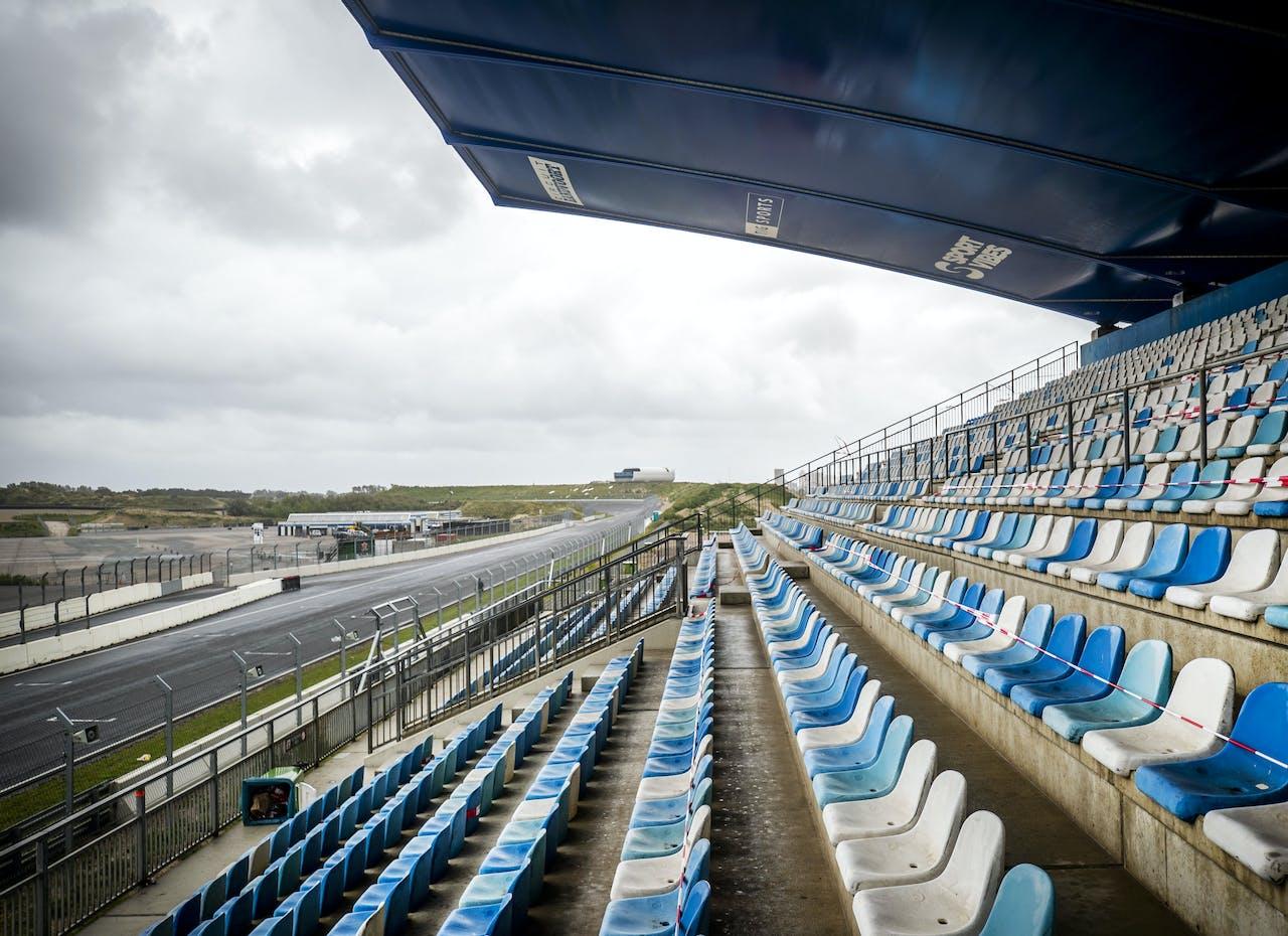 2020-08-26 16:37:49 ZANDVOORT - Circuit Zandvoort tijdens een media-update over de compleet afgeronde verbouwing van het Circuit Zandvoort. ANP REMKO DE WAAL