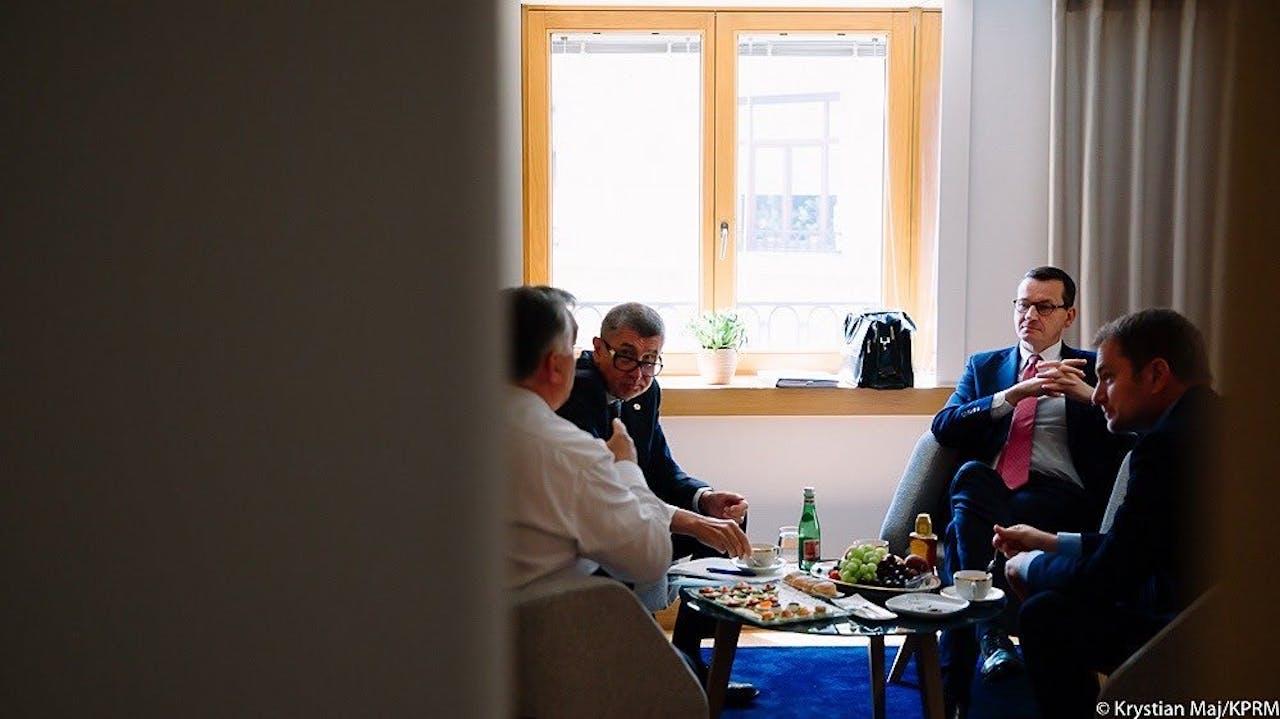 Ook de Visegrad-landen stemmen hun strategieën op elkaar af