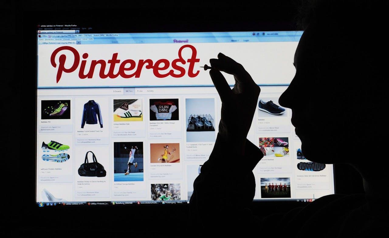 Pinterest is de digitale variant van een prikbord. Je kunt er foto's, recepten en ideeën uitwisselen. EPA/JULIANSTRATENSCHULTE