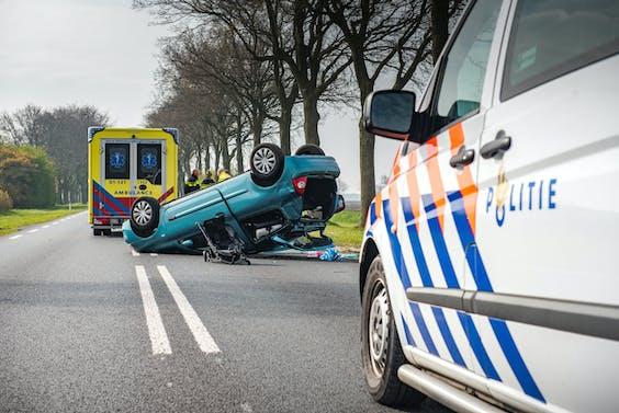 Auto-ongeluk bij Kiel-Windeweer (2017)