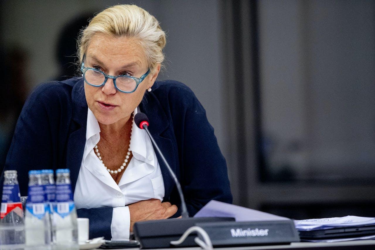 Sigrid Kaag. Minister voor Buitenlandse Handel en Ontwikkelingssamenwerking