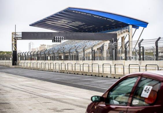 Circuit Zandvoort tijdens een media-update