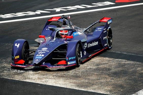 Formule E-coureur Robin Frijns