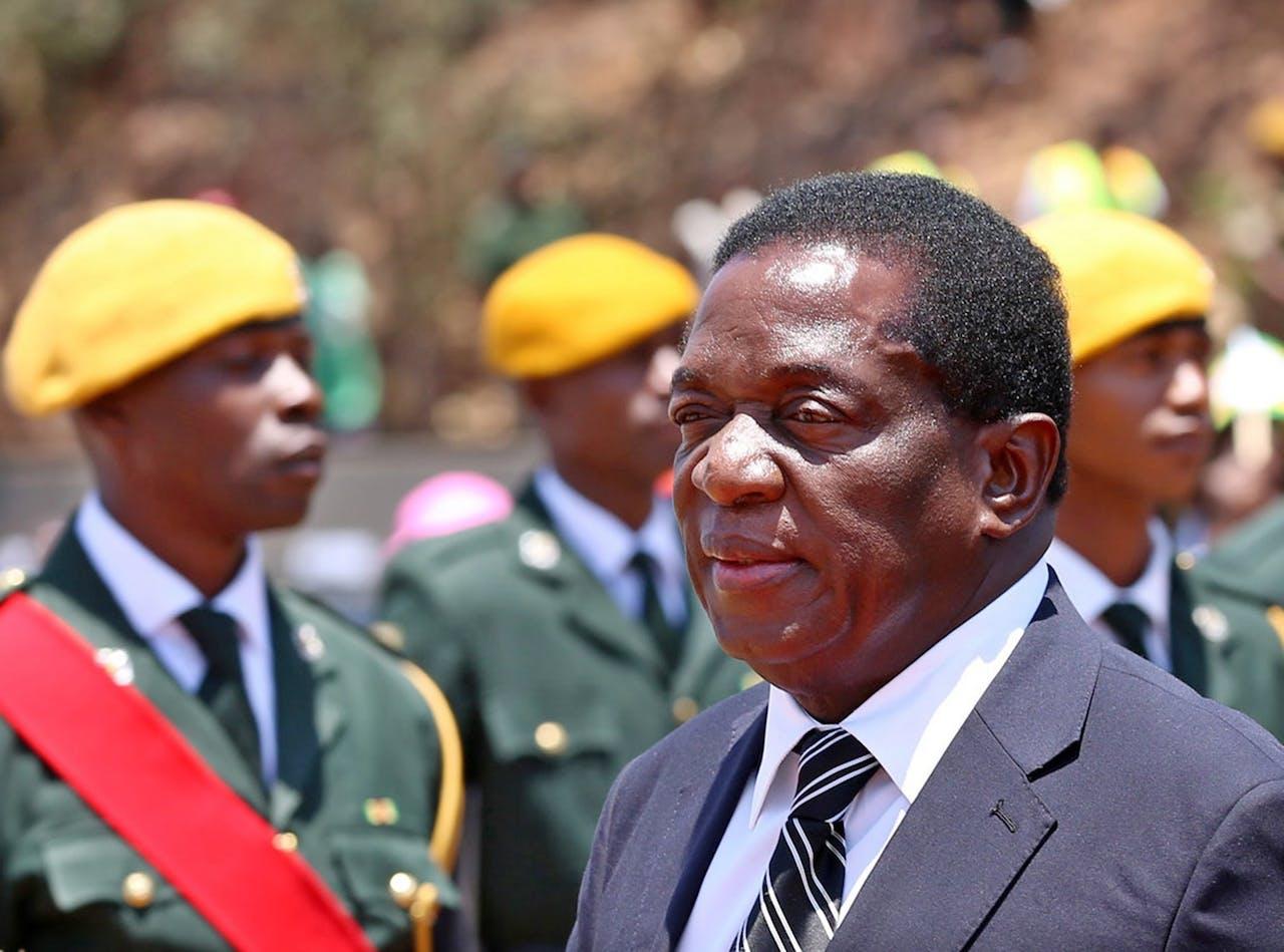 Vicepresident Emmerson Mnangagwa
