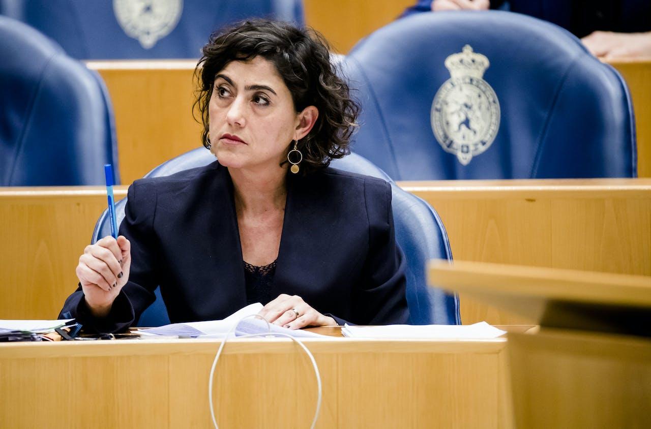 Sadet Karabulut van de SP in de Tweede Kamer