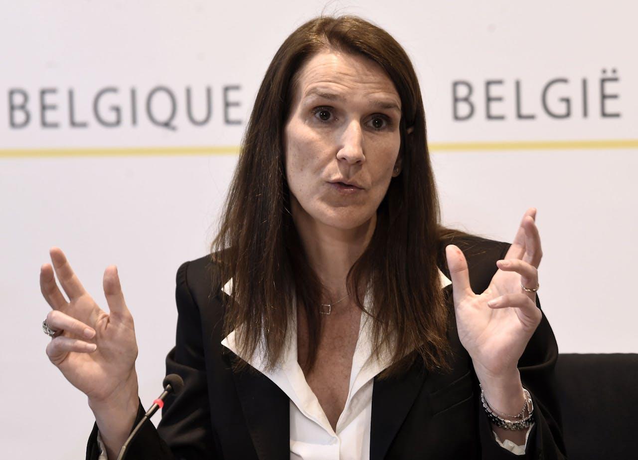 Belgische premier Sophie Wilmès
