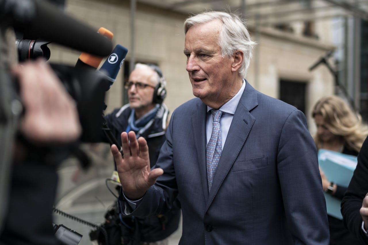 EU Brexitonderhandelaar Michel Barnier