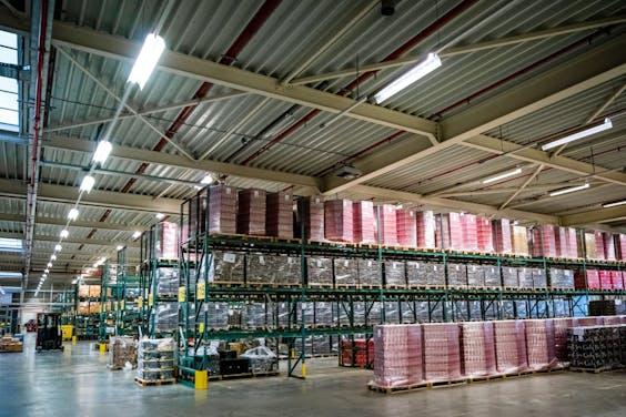 Een groothandel met forse voorraden