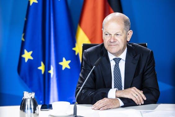 Olaf Scholz (SPD), de grote winnaar van de Duitse verkiezingen