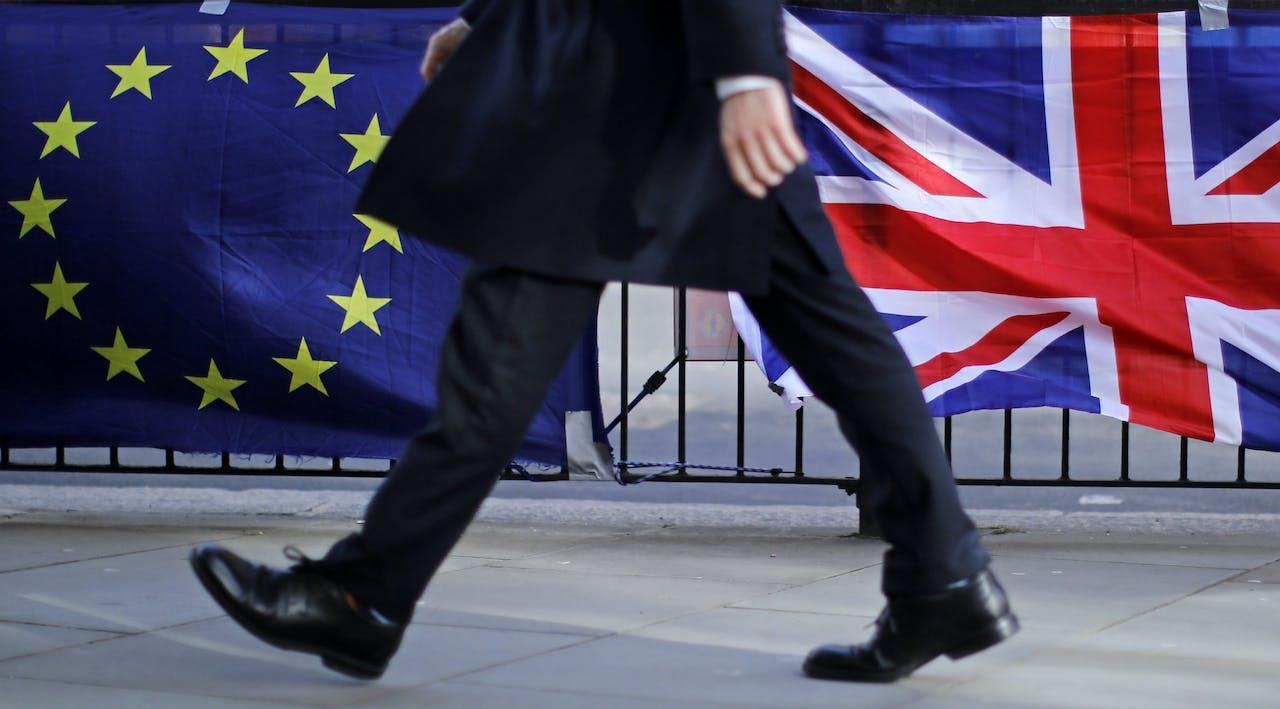 Brexit onderhandelen muurvast, volgens de Britten