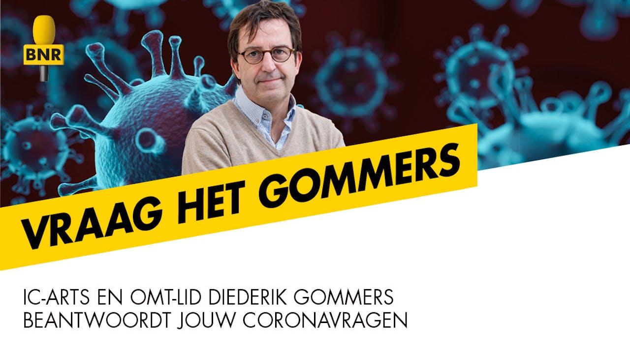 Vraag het Gommers is een nieuwe podcast van BNR met IC-arts en OMT-lid Diederik Gommers