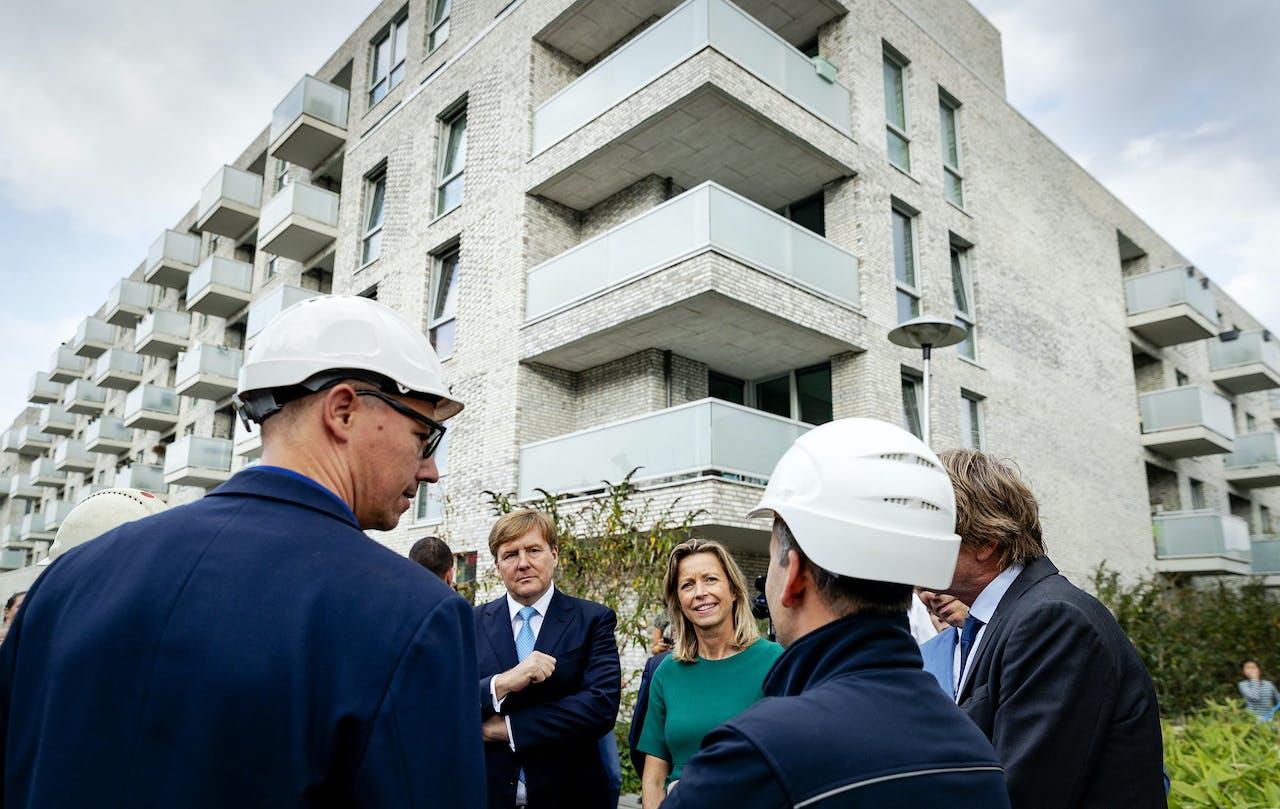 Koning Willem Alexander en minister Kajsa Ollongren (Binnenlandse Zaken en Koninkrijksrelaties) brachten in oktober 2018 een bezoek aan de wijk Veemarkt. De nadruk van dit bezoek lag op vernieuwingen in de woningmarkt en de energietransitie.