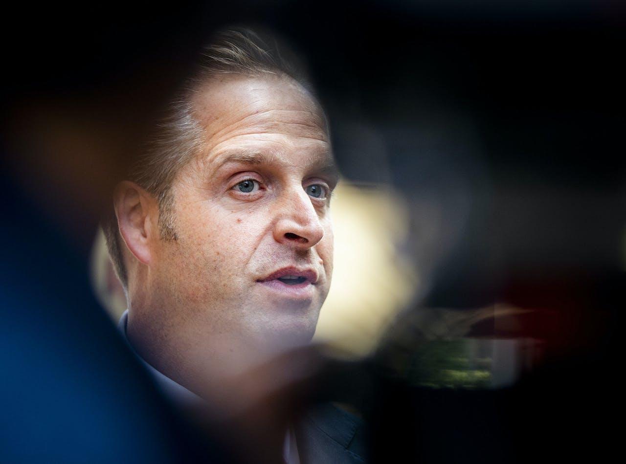 Hugo de Jonge, minister van Volksgezondheid, Welzijn en Sport