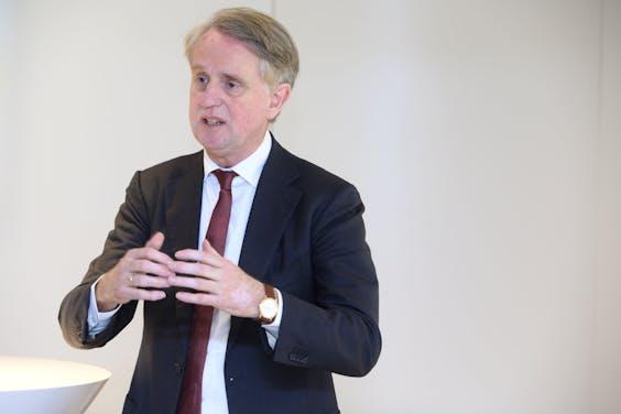 Dick Benschop, CEO van Schiphol
