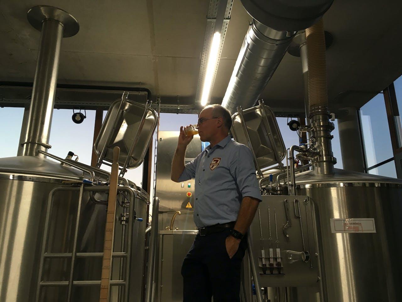 Garmt Haakma, oprichter van Brouwerij De 7 Deugden