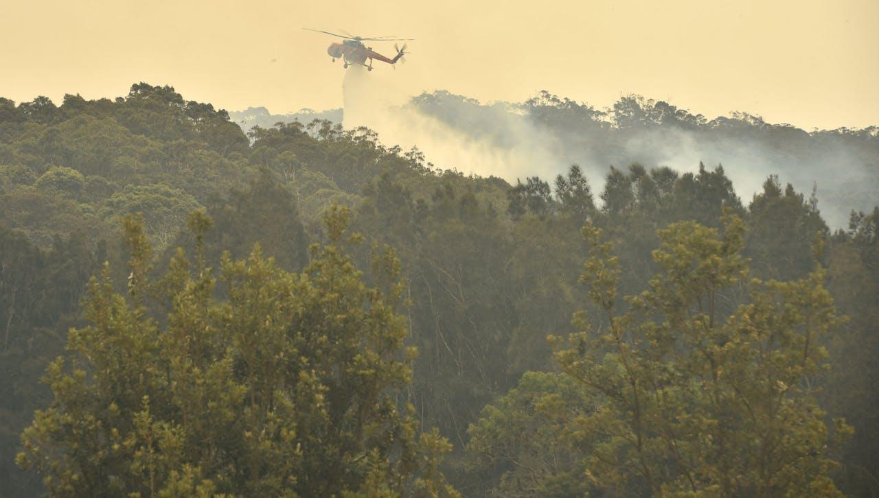 Australië wordt geteisterd door hevige bosbranden