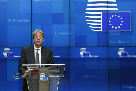 Eurocommissaris voor Economie Paolo Gentiloni AFP