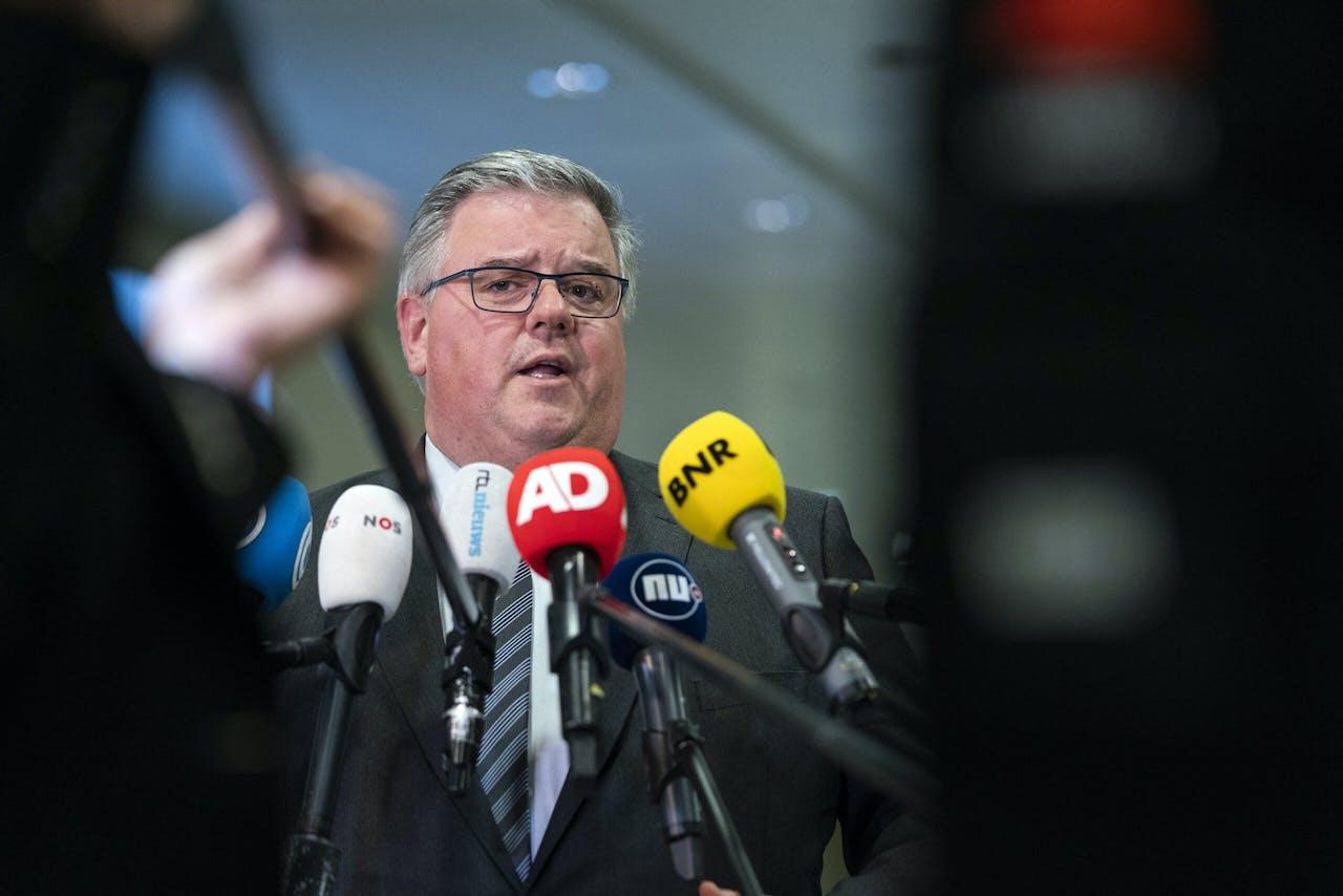 Voorzitter Hubert Bruls van het Veiligheidsberaad