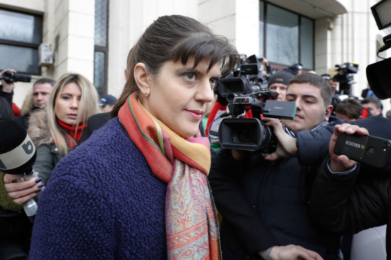 Laura Codruta Kovesi EPA/ROBERT GHEMENT