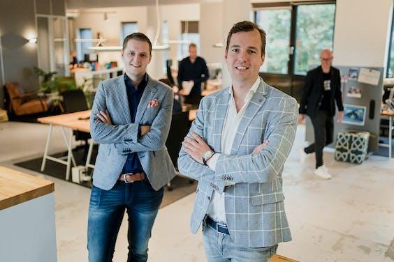 Bram ten Hove (CTO) en Taco Potze (CEO) van Open Social