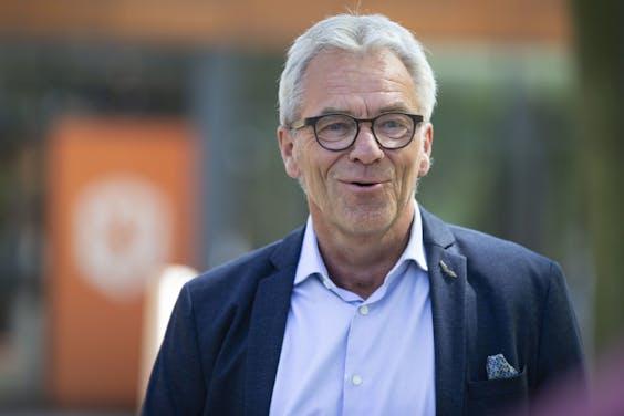Algemeen directeur Eric Gudde van de KNVB