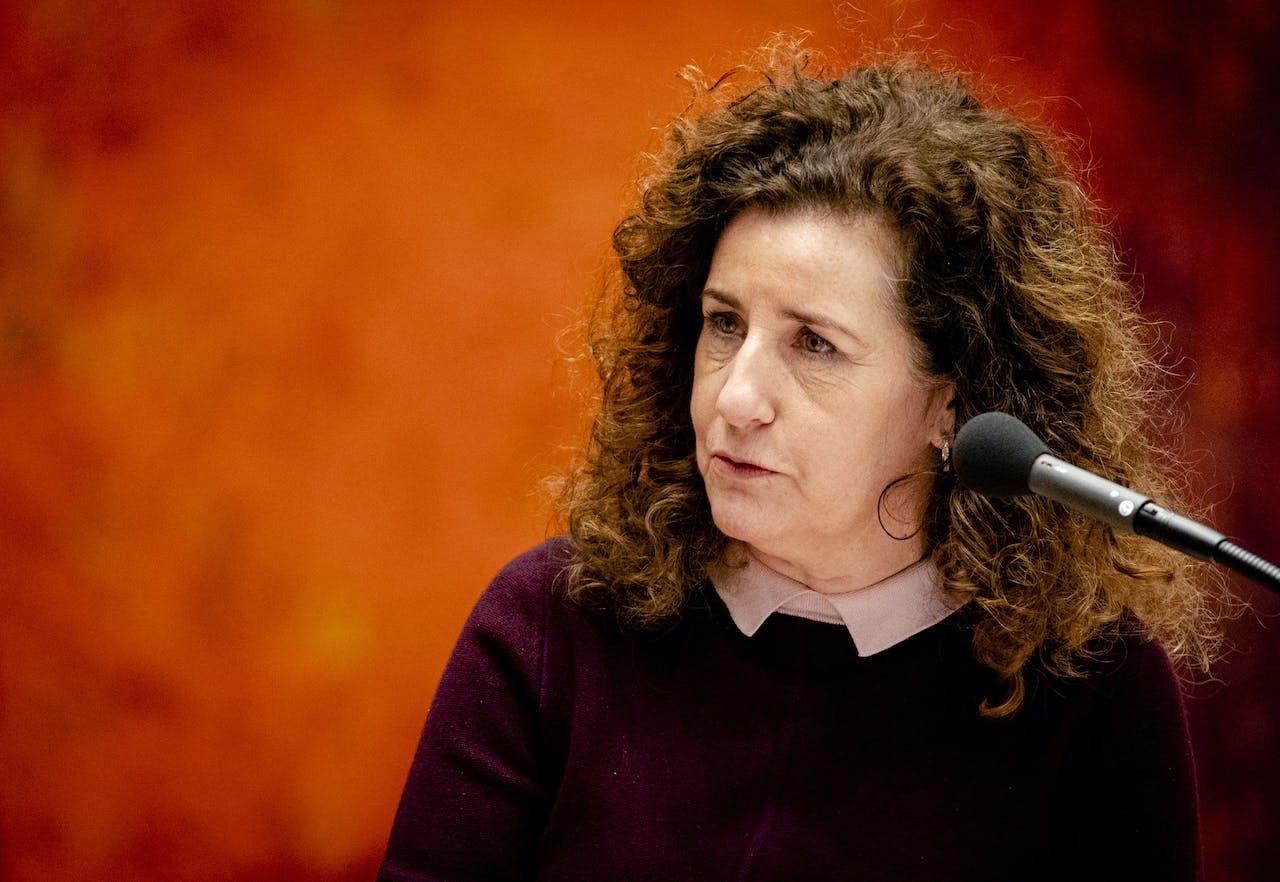 Ingrid van Engelshoven, minister van Onderwijs, Cultuur en Wetenschap,