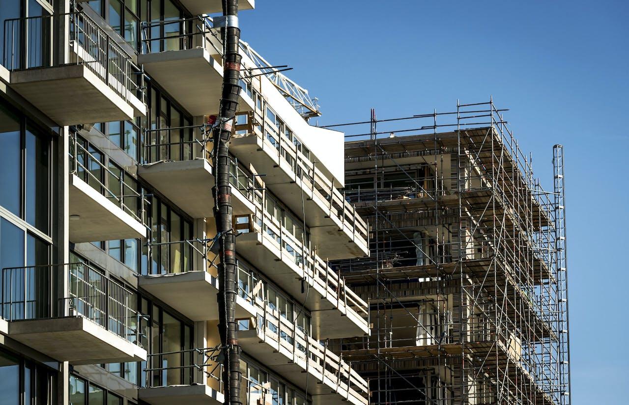 Een bouwproject in Buiksloterham.