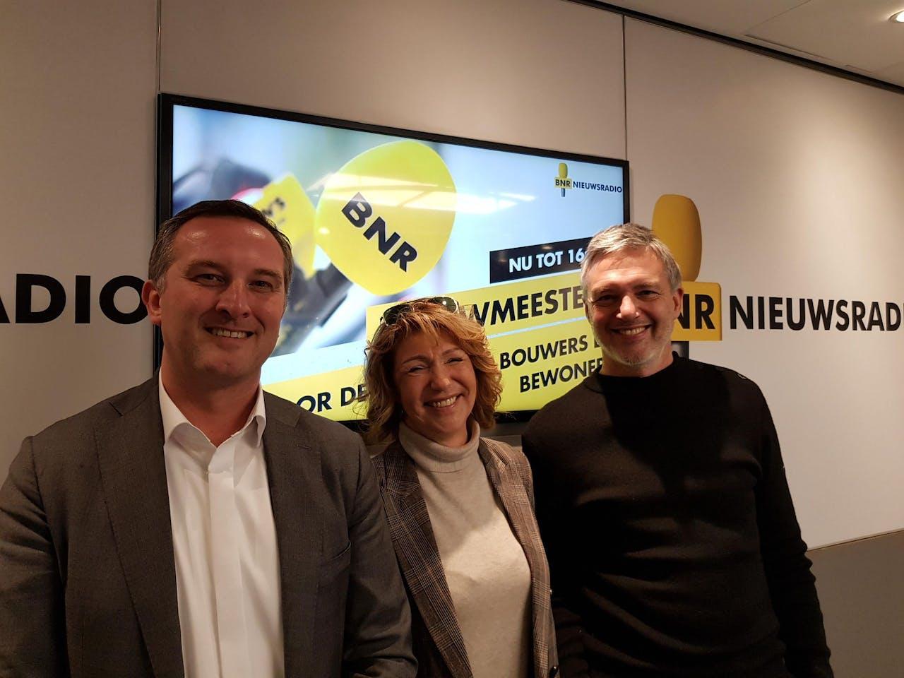 V.l.n.r.: Edwin de Kuiper, Anneke Witte en Paul Laseur.