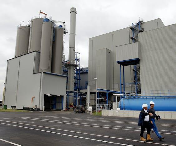 2008: De biomassacentrale in Moerdijk, de eerste op het Europese vasteland