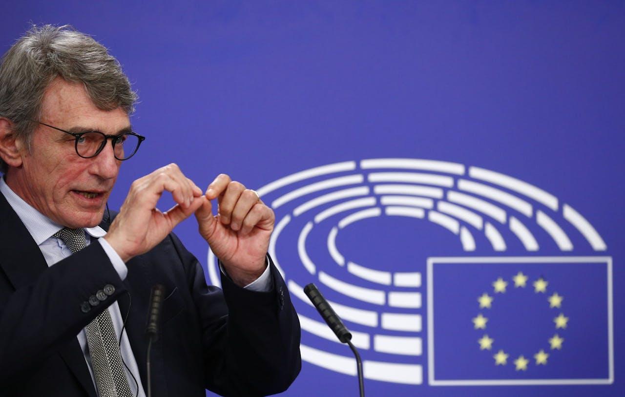 EP-president David Sassoli